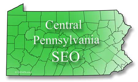 Central Pennsylvania Search Engine Optimization SEO Services