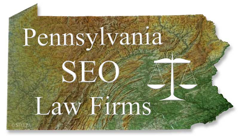 PA SEO for Law Firms Attorneys and Lawyers.