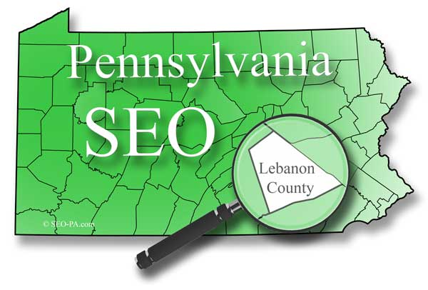 Lebanon County Pennsylvania Search Engine Optimization SEO Services