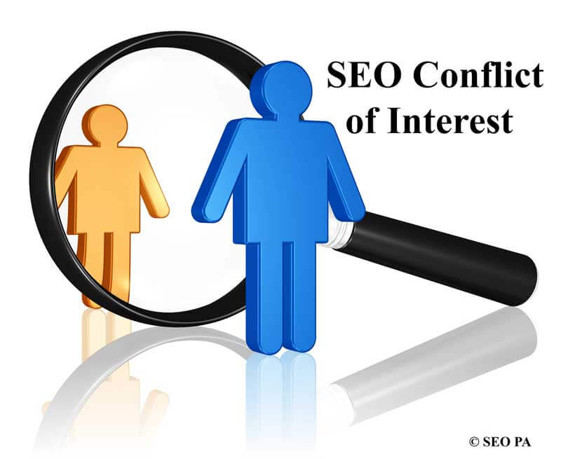 Reading PA SEO Company Conflict of Interests